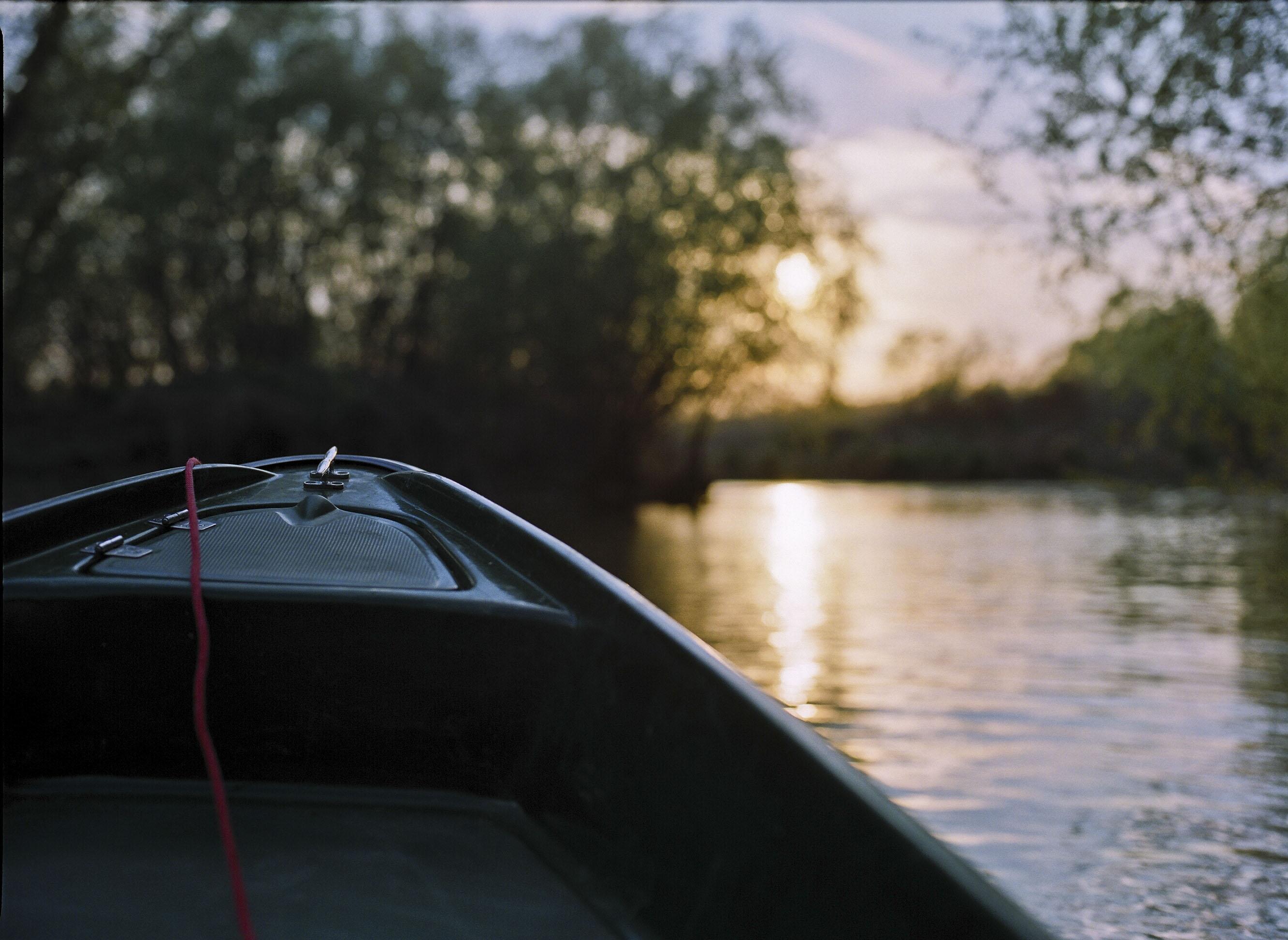 PLASTIC BOAT Danube Delta, Romania